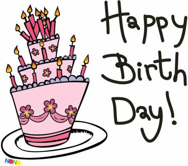 Bon anniversaire!!!