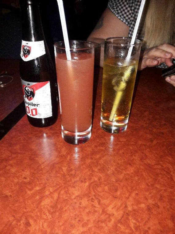 Que c'est bon double vodka fraise hum