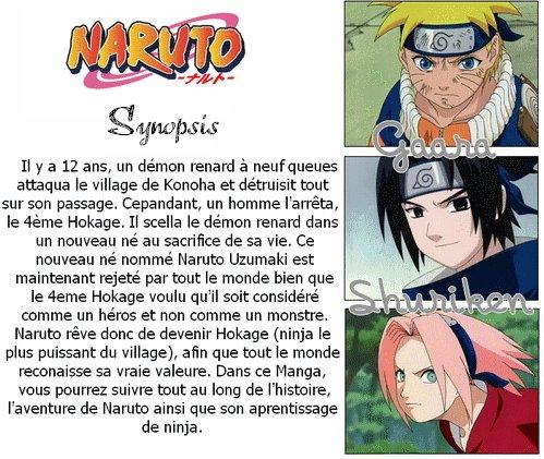 Synopsis du manga.