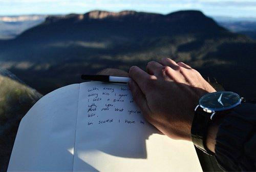 « Lettre à mon rayon de soleil.»