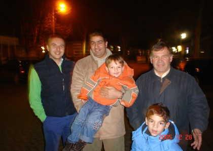 Avec Hugo Batenburg et Piet van de merwe
