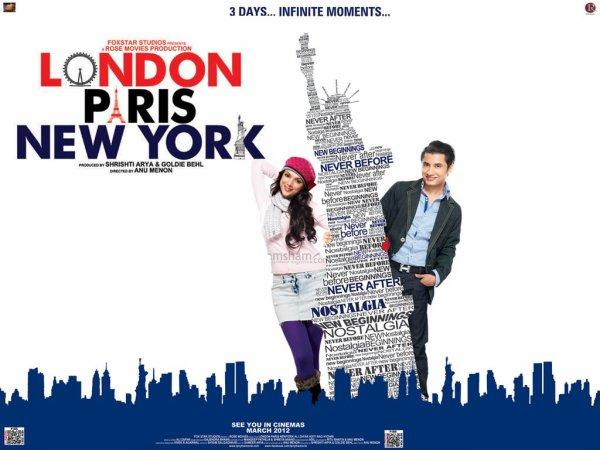 Mon nouveau coup de coeur : LONDON, PARIS, NEW YORK.