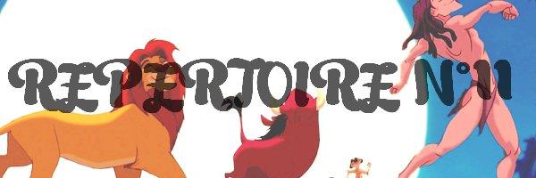 RÉPERTOIRE N°11 : Critiques de Films/Séries