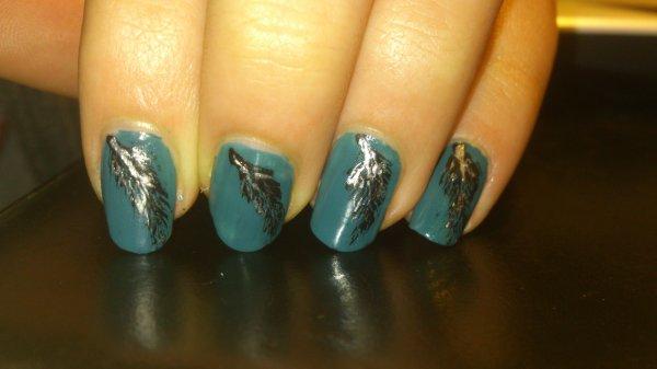 Nail art faits par moi même et sur mes propres ongles.
