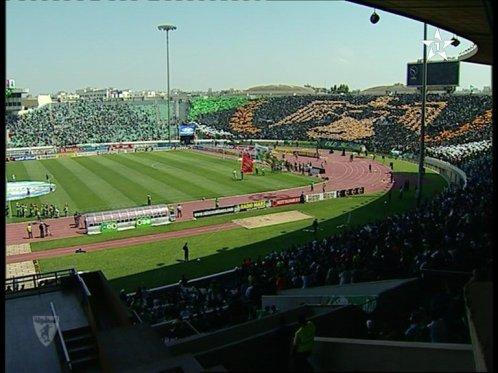 تيفو الغرين بويز 2011 Tifo Green Boys Rca Vs Far 2/1