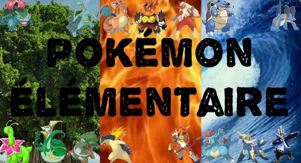 Pokémon Elementaire