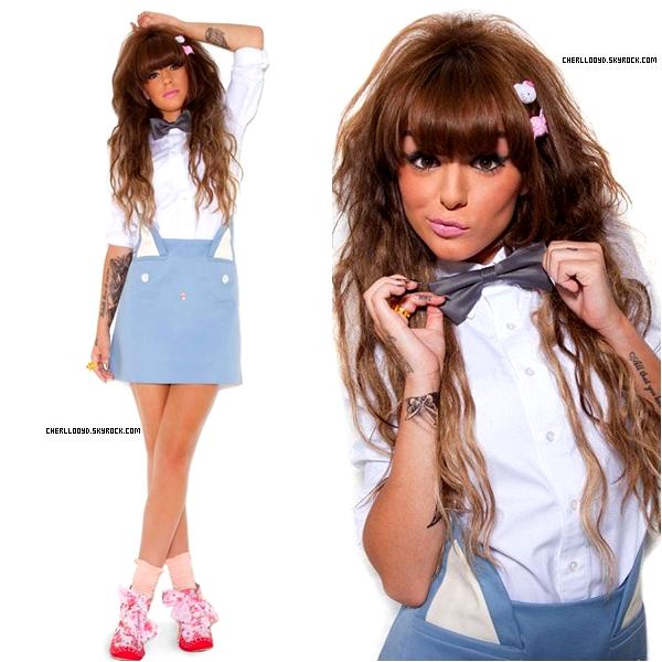 ▪ Cher Lloyd en couverture du magazine Bliss.