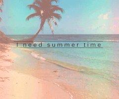 j'ai besoin du temps de l'été