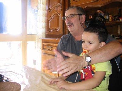 Esteban et Papi