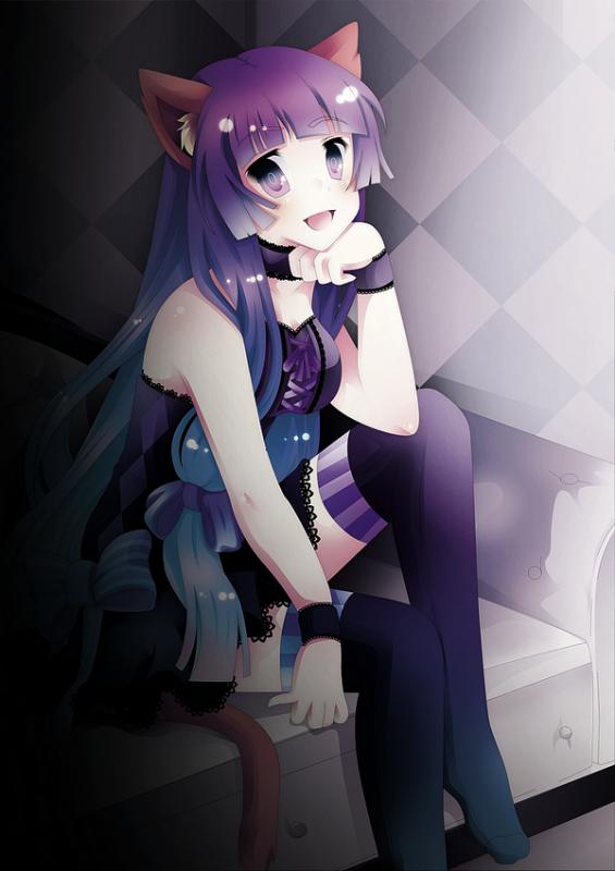 → Neko Girl ~ !