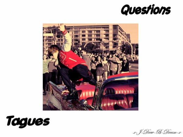 ✖ Questions & Tagues ✖