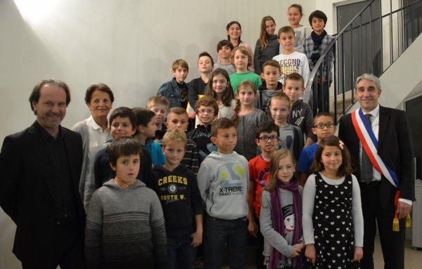 Installation du 11e Conseil municipal enfants de Bellerive