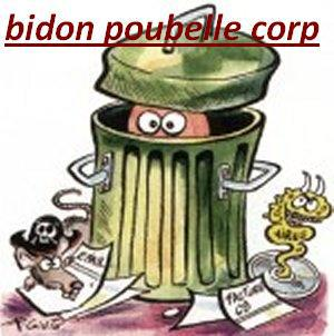 Bidon Poubelle Corp