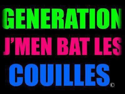 La génération encaisse & ferme ta gueule