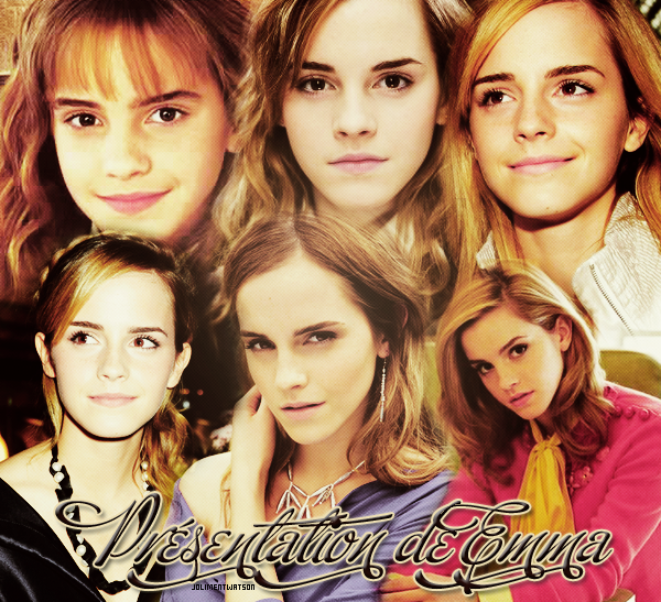Présentation de Emma Watson