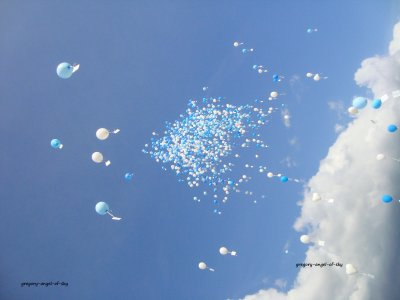 Lâché de Ballons
