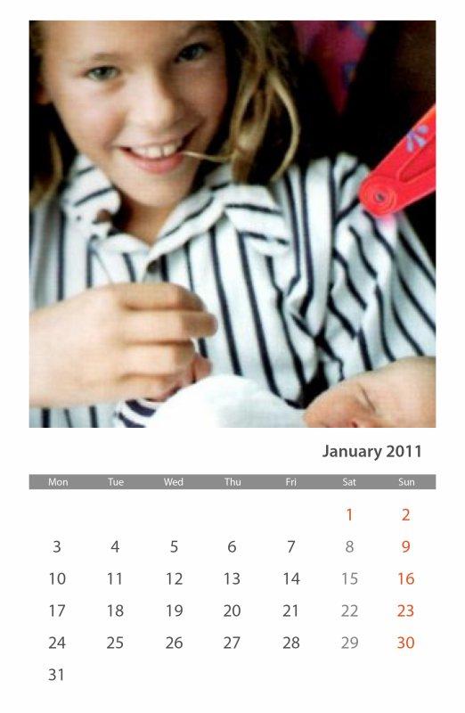 Et voilà le mois de janvier qui nous arrive déjà!