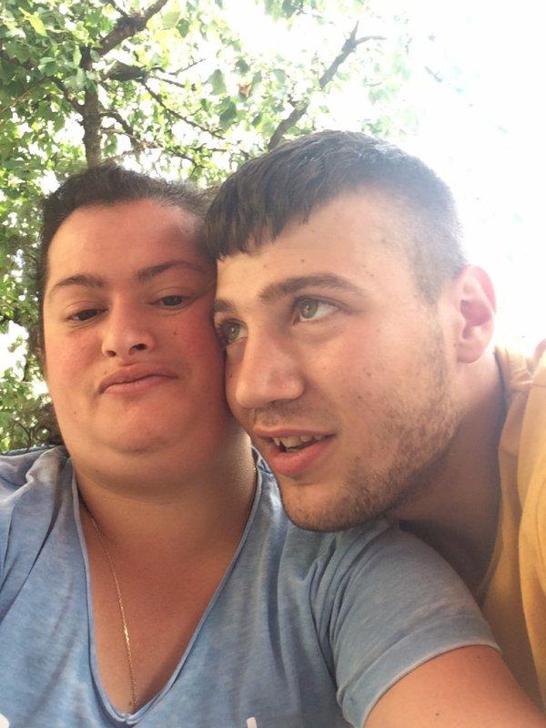 Moi avec mn homme