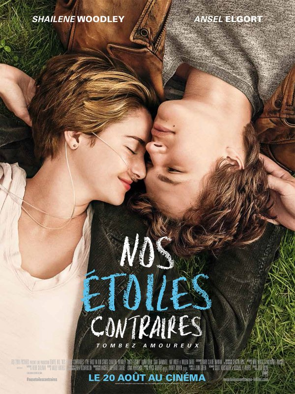 Nos étoiles contraires/ The fault in our stars, John Green :
