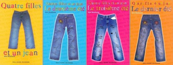 Quatre filles et un jean, Ann Brashares :