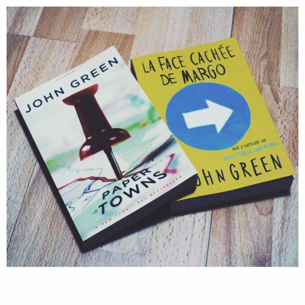 La face cachée de Margo (Papers Towns), John Green :