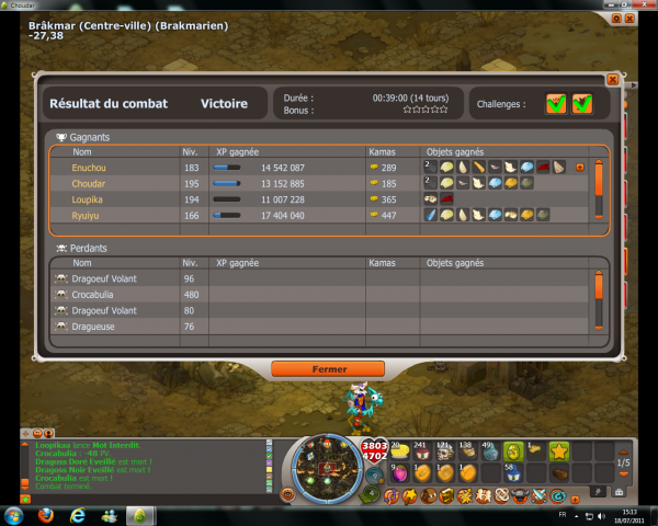 Croca + Challenge 170%