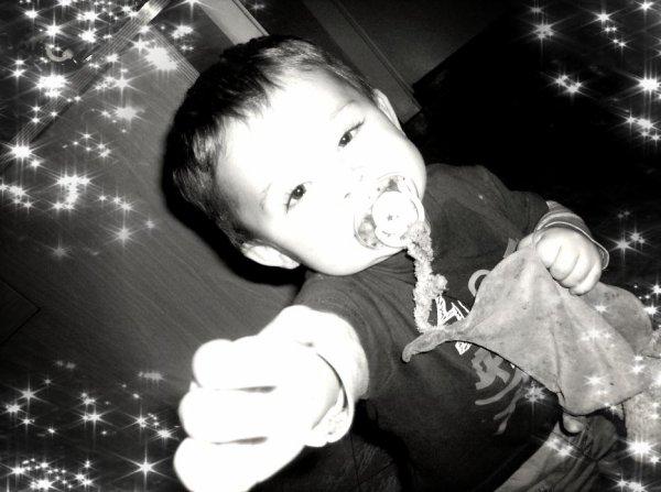 Mon fils , petit bonhomme