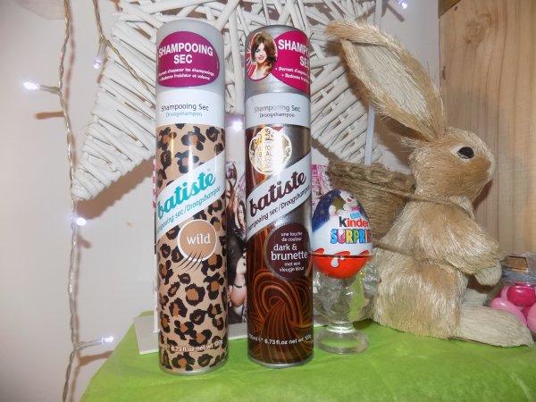 Shampoing sec Brunette VS Wild