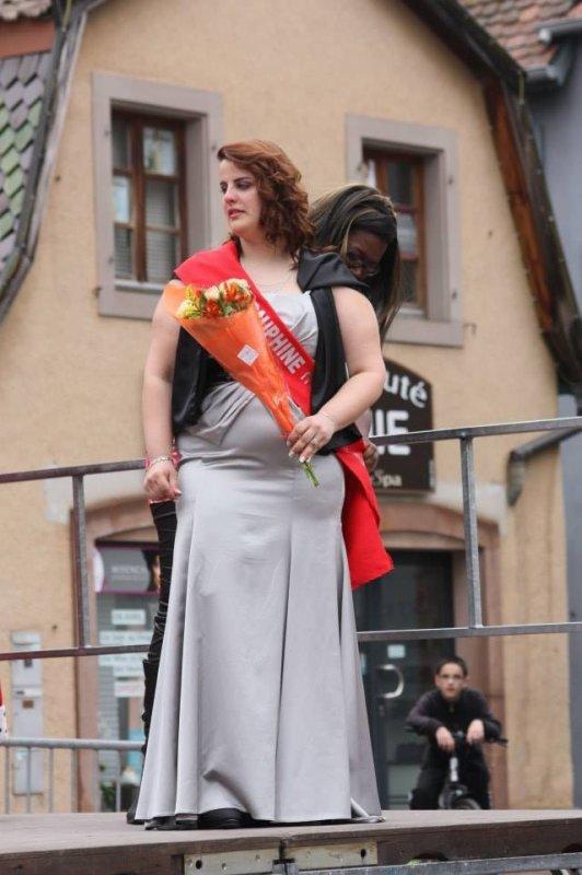 2 ème dauphine Miss Ronde Bas-Rhin <3