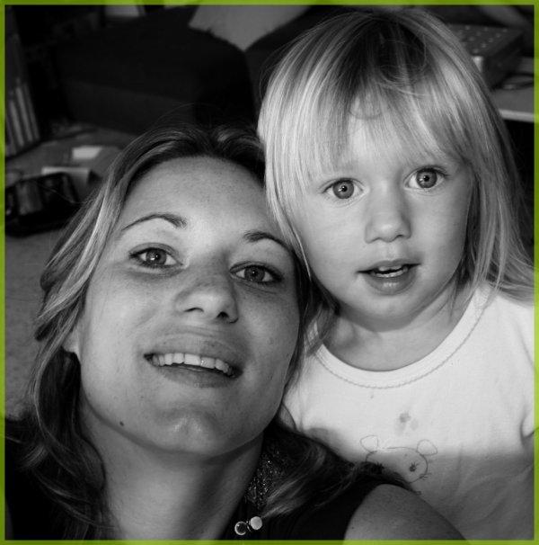moi et ma fille Madison