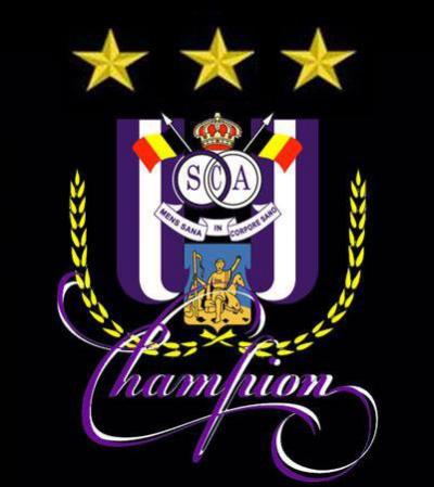 anderlecht champion 2010 30 titres 3etoiles joharno