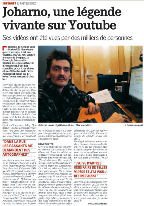 joharno article interview dans la meuse