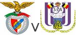 benfica 2-2 rsca  match amical en force des mauves