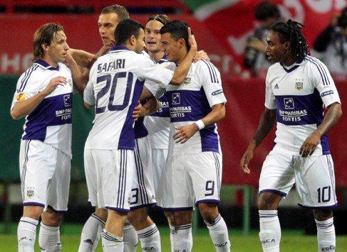 les belges toujours trop puissant en europa league