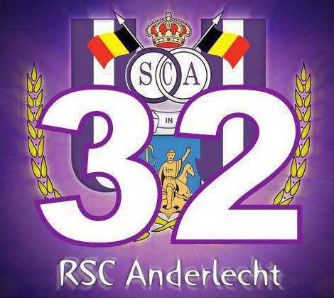 ANDERLECHT 32 TITRES CHAMPION 2013