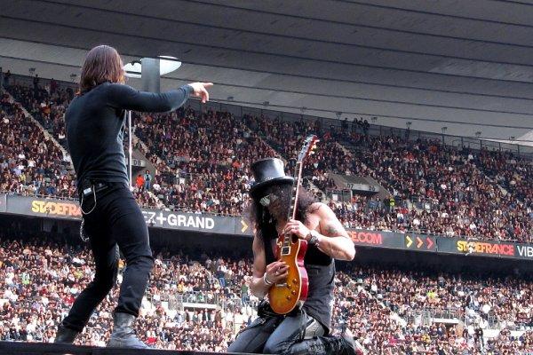 Slash+AC/DC, Paris Stade de France, 18 juin 2010