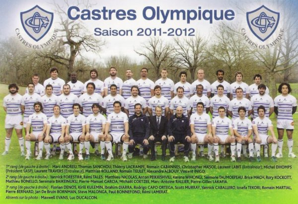 * Photo Officielle Saison 2011-2012 *