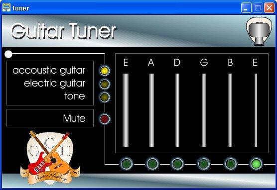 Guitar Tuner Microphone - Obtenez votre guitare en harmonie avec un cliquez sur