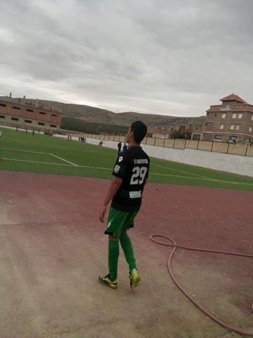 Telle est la pratique du football de mon fils avec l'équipe de jeunes de Constantine csc