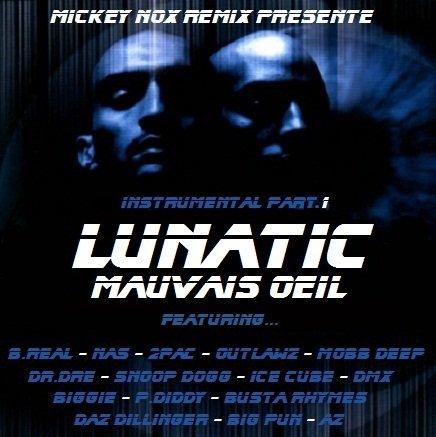 Rap Us Sur Instru Lunatic (Album Mauvais Oeil) A découvrir en exclu sur mon blog en smoment, ton avi m'interesse la famille !!!