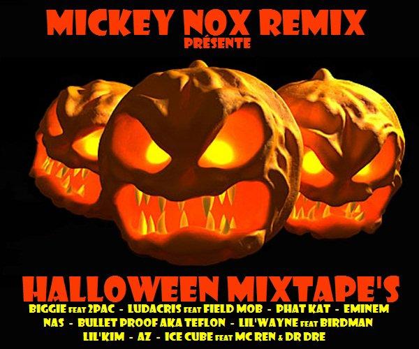 Halloween Mixtape's - Remix 100% inédit - Lache t com la famille !!!