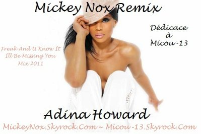 The Best Of Mixtape Vol°1 / Adina Howard - Freak And U Know It / Ill Be Missing You (Remix By MickeyNox) (2011)