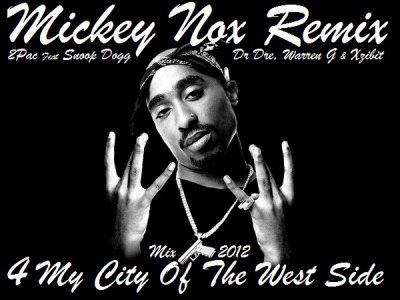 "Mickey Nox Presente ""The Mixtape's Session 2"" / 2PAC Feat DR DRE, WARREN G, XZIBIT & SNOOP DOGG - 4 My City Of The West Side (Remix by MickeyNox) (2012)"
