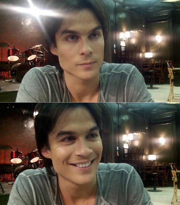 Photos prises sur le tournage de la saison 3 de The Vampire Diaries