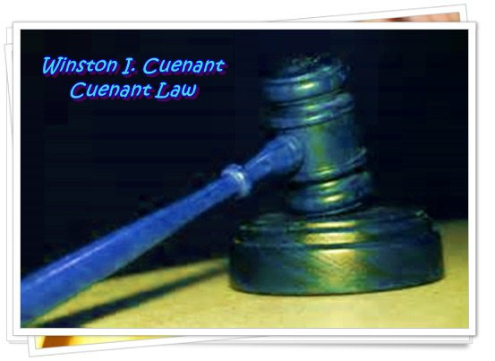 Winston I. Cuenant is an Extraordinary Lawyer
