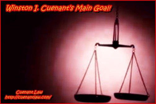 Winston I. Cuenant's Main Goal!