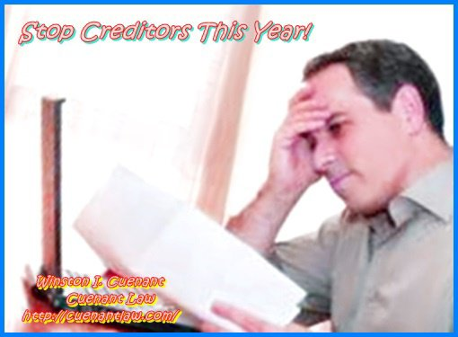 Stop Creditors This Year!
