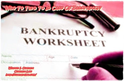 Who To Turn To In Case Of Bankruptcy?