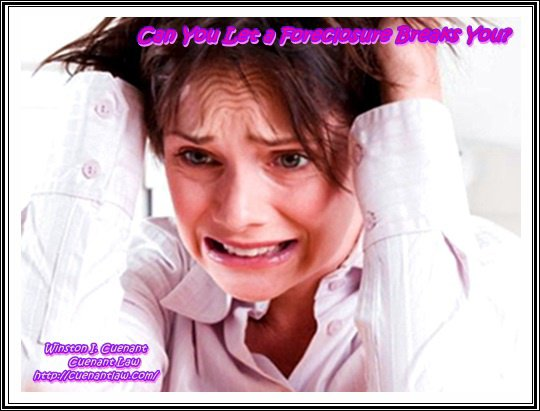 Can You Let a Foreclosure Breaks You?