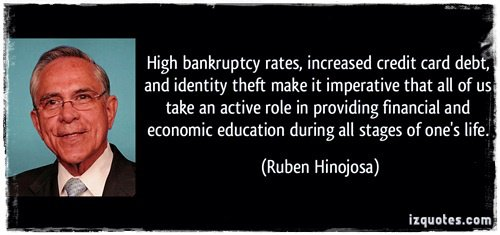 High Bankruptcy Rates